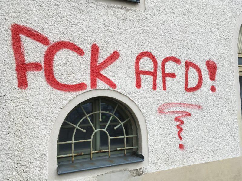 12.01.2019 - Am Rande des Bundesparteitags der AfD in Riesa
